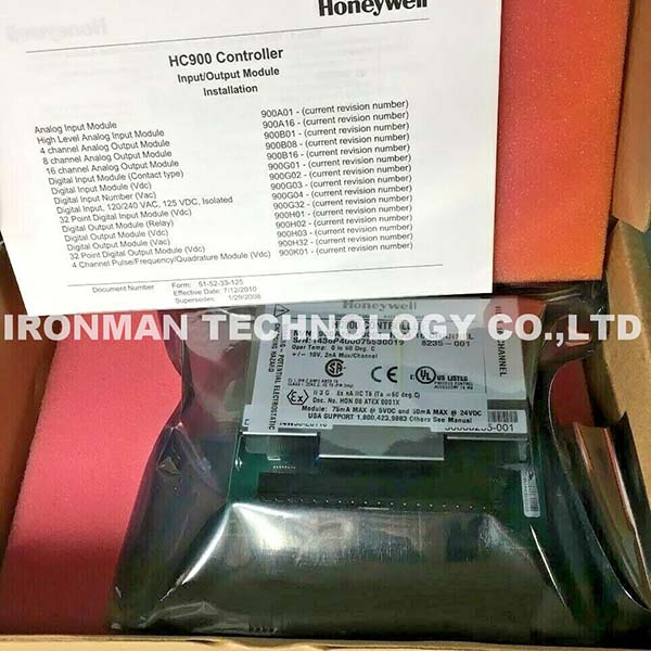 Honeywell 900H03-0102 ControlEdge HC900 IO Modules