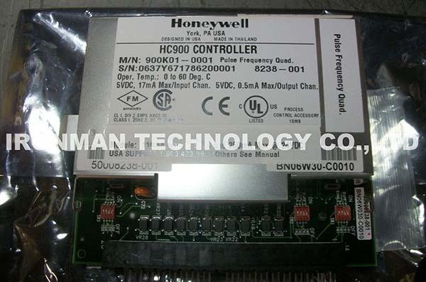 HONEYWELL 900K01-0001 HC900 PULSE FREQUENCY QUAD CONTROLLER