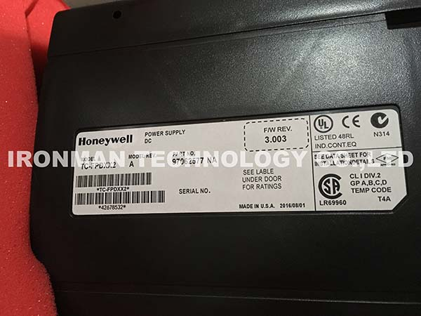 Honeywell C200 TC-FPDXX2 24Vvdc Pwr Supply