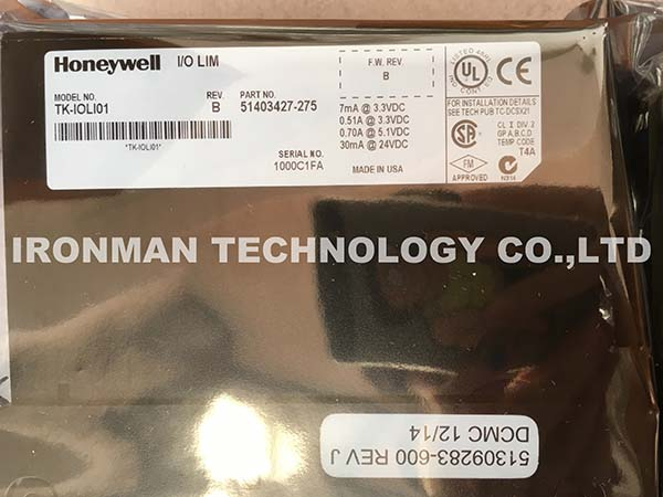 Honeywell TK-IOLI01 51403427-275 I/O LIM ASSEMBLY MODULE