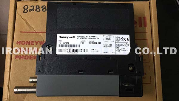 HONEYWELL EXPERION TC-CCR013 DUAL REDUNDANT NET INTERFACE MODULE
