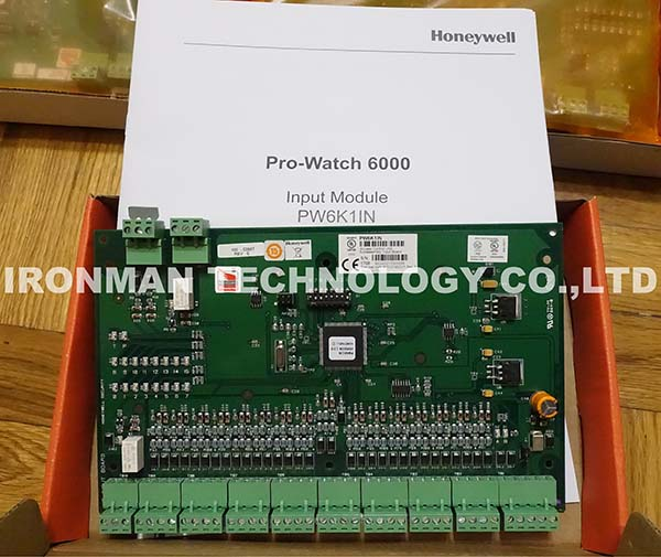 Honeywell PW6K1IN Input Module Access Control Unit Subassembly Input Board